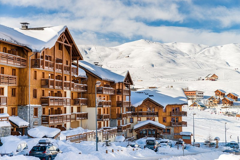 You will love the location by the pistes in La Toussuire!