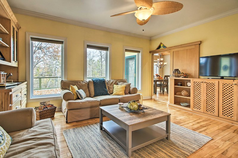 You'll love this idyllic Breezy Point vacation rental home!