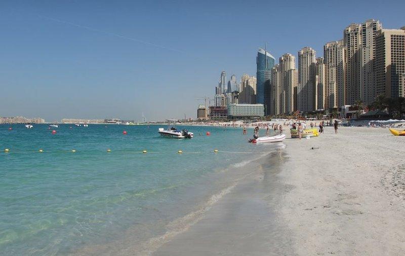 Studio With Rooftop Pool, Dubai Marina, alquiler de vacaciones en Murqquab