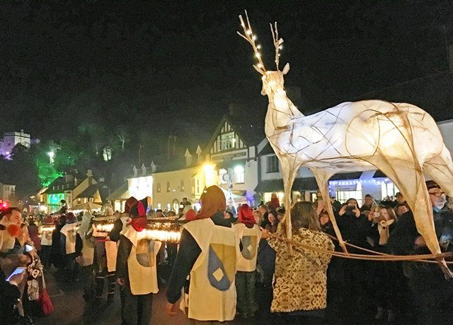 Dunster By Candlelight ? Dulverton By Starlight 1st Weekend in December