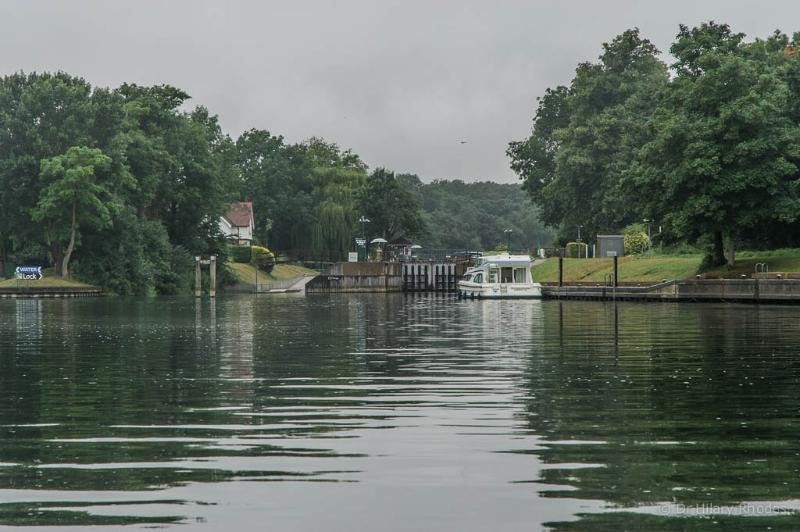 Boveney Lock - a few minutes away by car. On the Thames Walk.