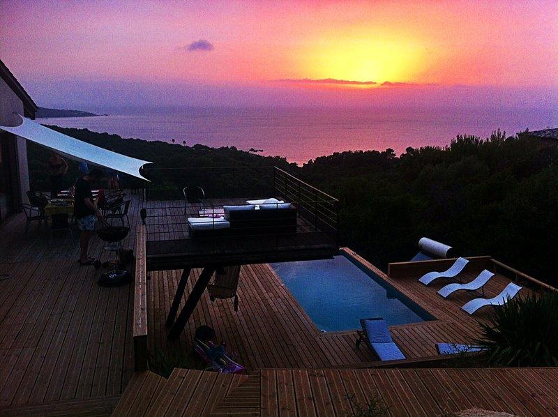 Villa Loft avec Piscine privée, holiday rental in Coti-Chiavari