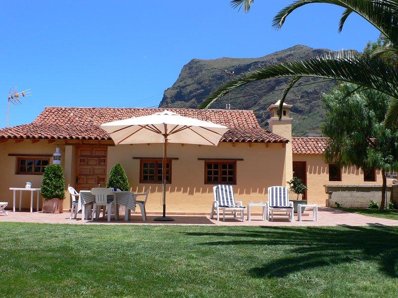 Casa La Gomera, Los Silos, holiday rental in El Tanque