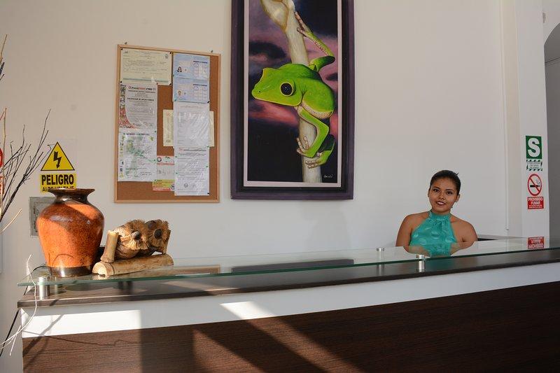 • Hostal CASA BLANCA  está ubicado en una zona privilegiada Tarapoto - peru, aluguéis de temporada em Sauce
