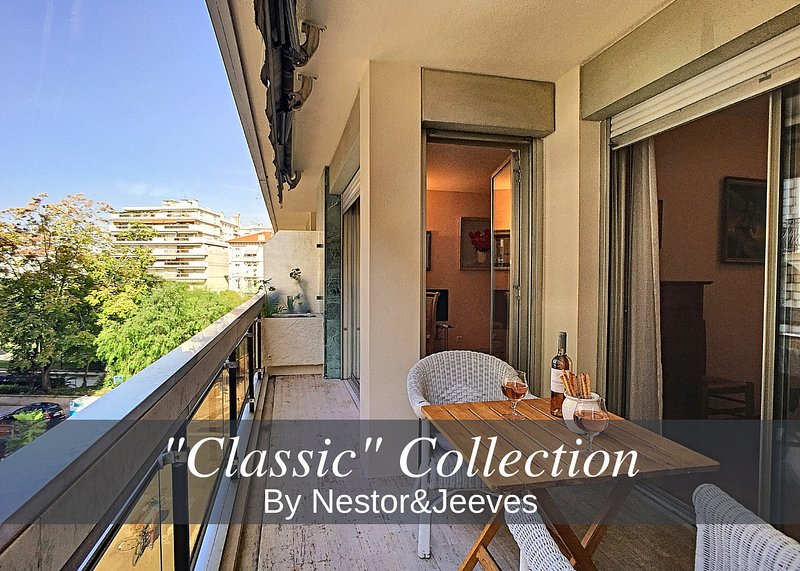 N&J -  PARNASSE TERRASSE - Central - By shopping area, holiday rental in Nice