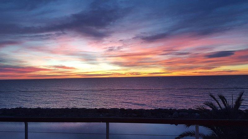 vistas amanecer