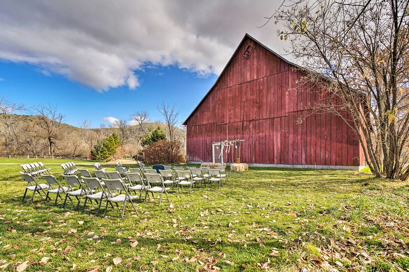 The Hidden Springs community can host weddings and events.