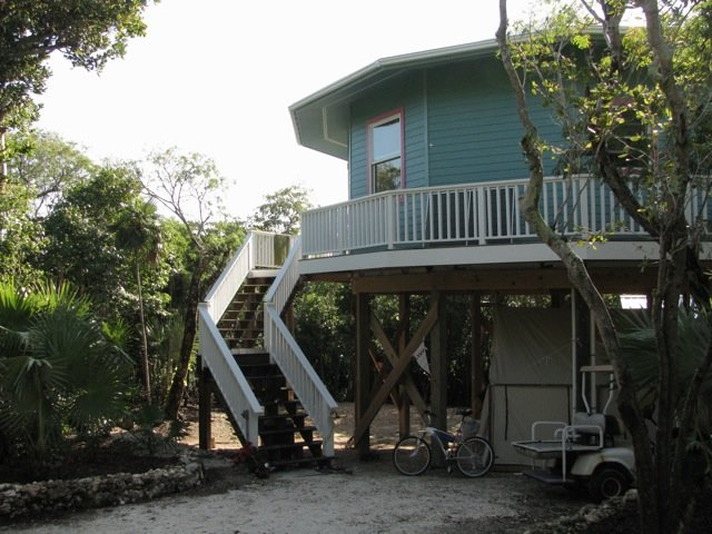 Private Treehouse in Elbow Cay, Hopetown, holiday rental in Marsh Harbour
