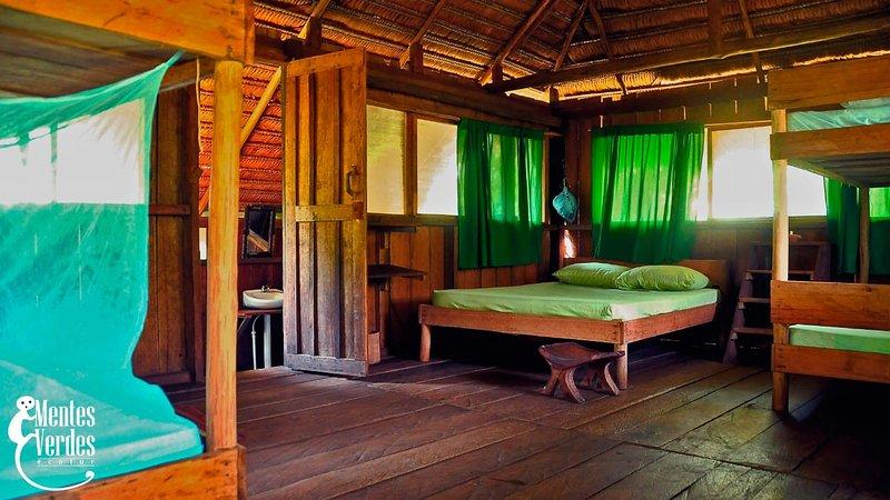 Hotel naineku lodge san martin de amacayacu amazonas, vacation rental in Leticia