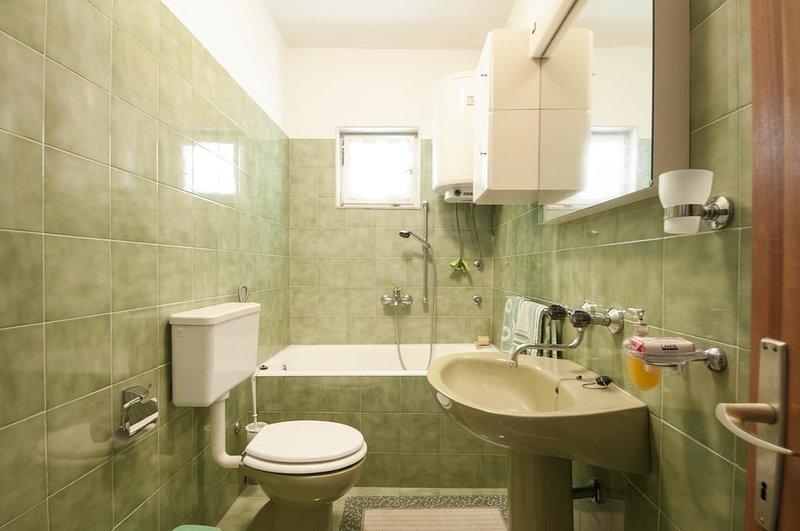 A1 - Zeleni(2+1): bathroom with toilet