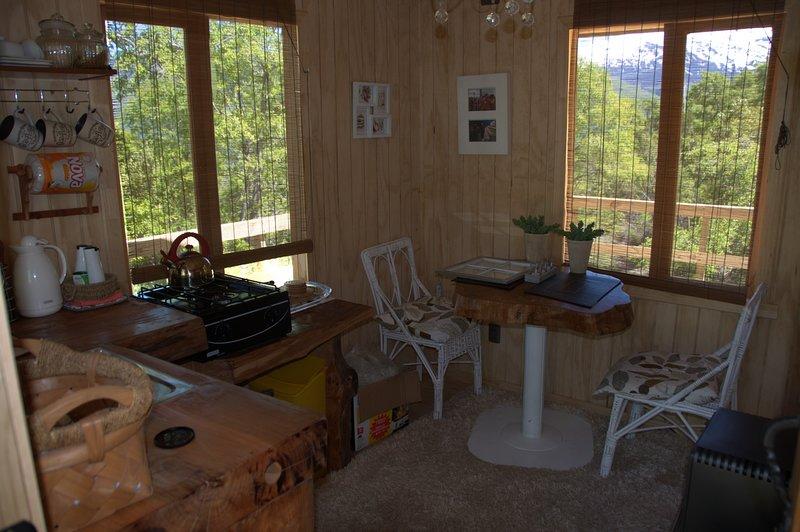 Parque Nacional Conguillio Cabaña independientes un piso para tres personas, location de vacances à Région de l'Araucanie