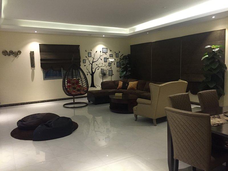 7 X 8 meter size Guests room
