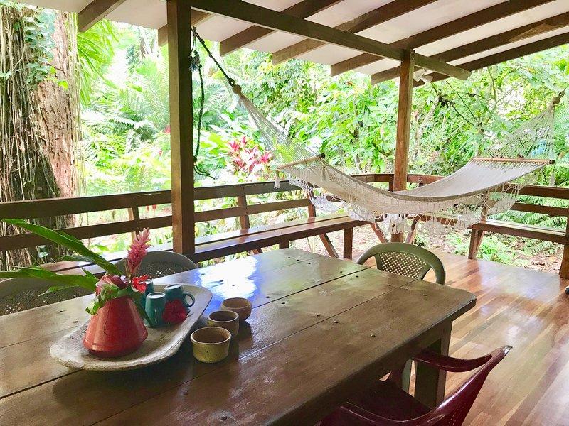 Pincoya - Nature all around, holiday rental in Playa Chiquita