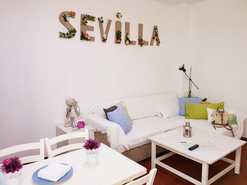 Apartamento El corral de las Ranas, alquiler de vacaciones en Sanlúcar la Mayor