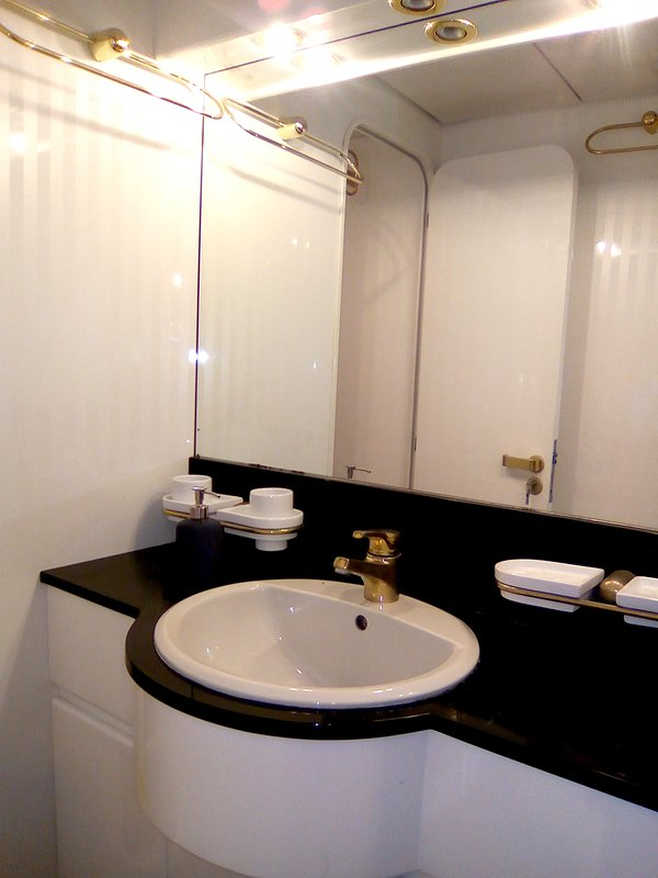 En-suite bathroom for each room with shower room and bidet