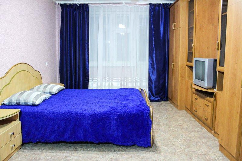 1к квартира в районе автовокзала, alquiler de vacaciones en Tyumen