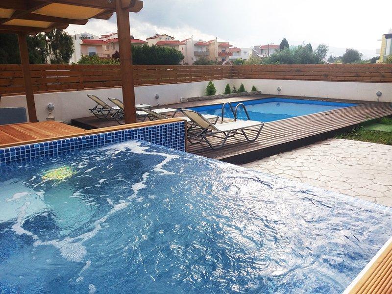 VILLA STERGOS Luxury -Rhodes Island GREECE, holiday rental in Petaloudes