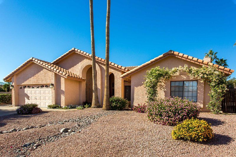 Escape to this 4-bed, 2-bath vacation rental in North Scottsdale.