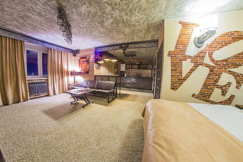 LoftAp.art Apartamentos exclusivos Los apartamentos están hechos en loft industrial.