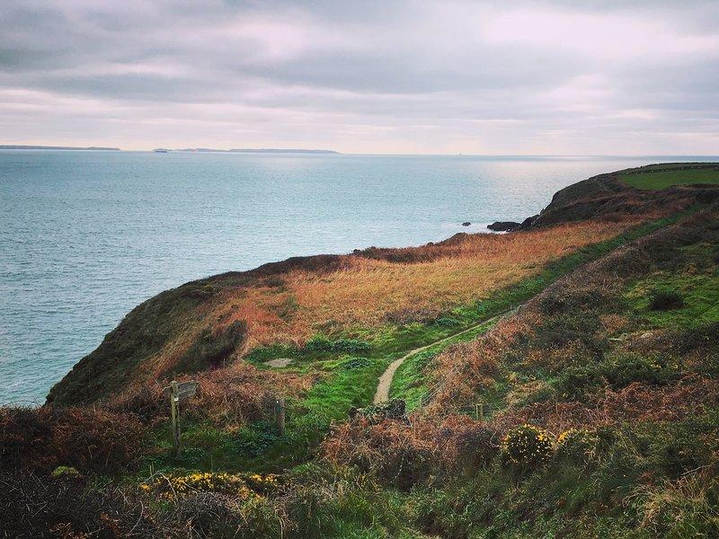 Stunning coastal path surrounding St Davids