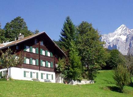 Chalet Alpenruhe Grindelwald, location de vacances à Grindelwald