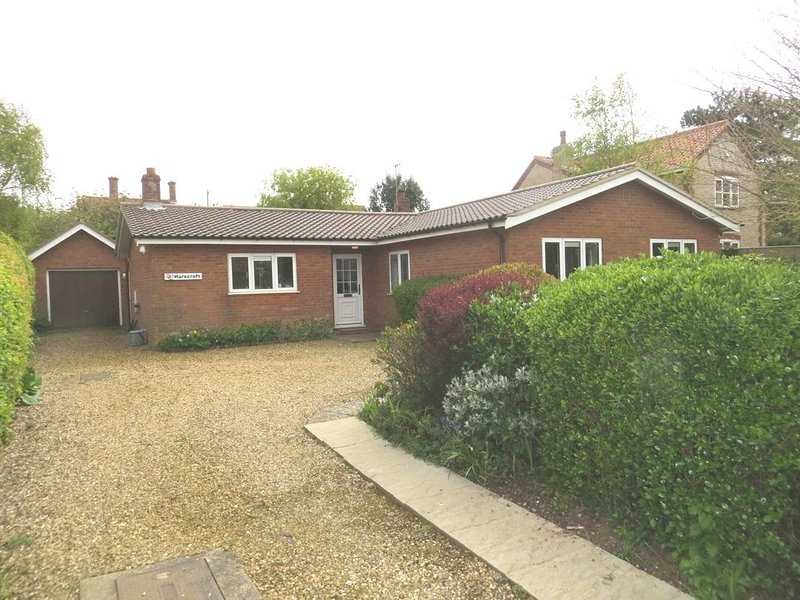 Harecroft Bungalow, holiday rental in Old Hunstanton
