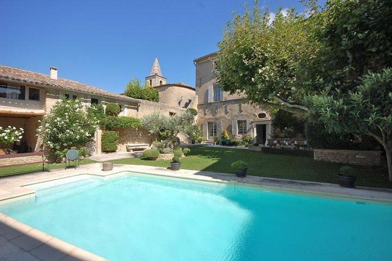 Le Jardin Secret, holiday rental in Cabrieres-d'Avignon