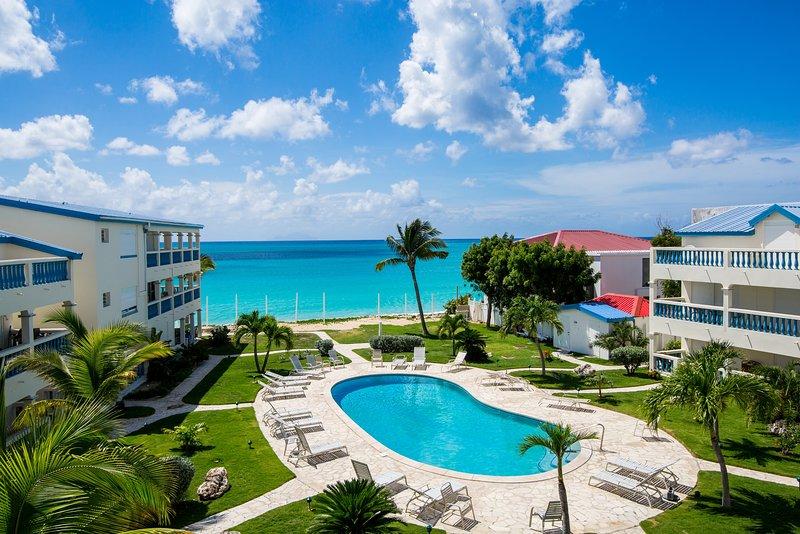 Caribbean Sun at Palm Beach, Simpson Bay, St Maarten