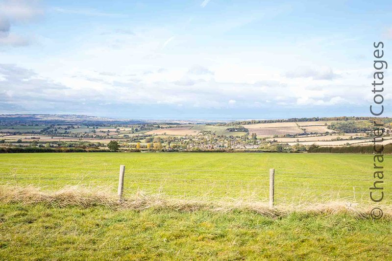 There are stunning views from the Stones, another great reason to visit this part of the Cotswolds