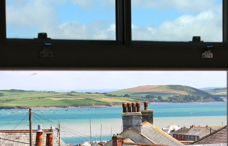 The stunning view of the Camel Estuary!