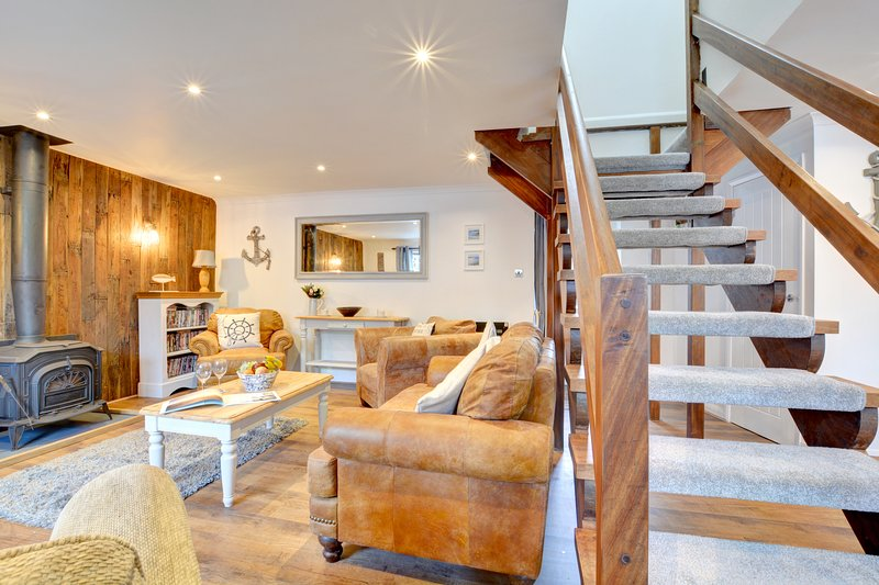 The Anchorage: A cosy pet friendly holiday cottage PW9105, casa vacanza a Houghton