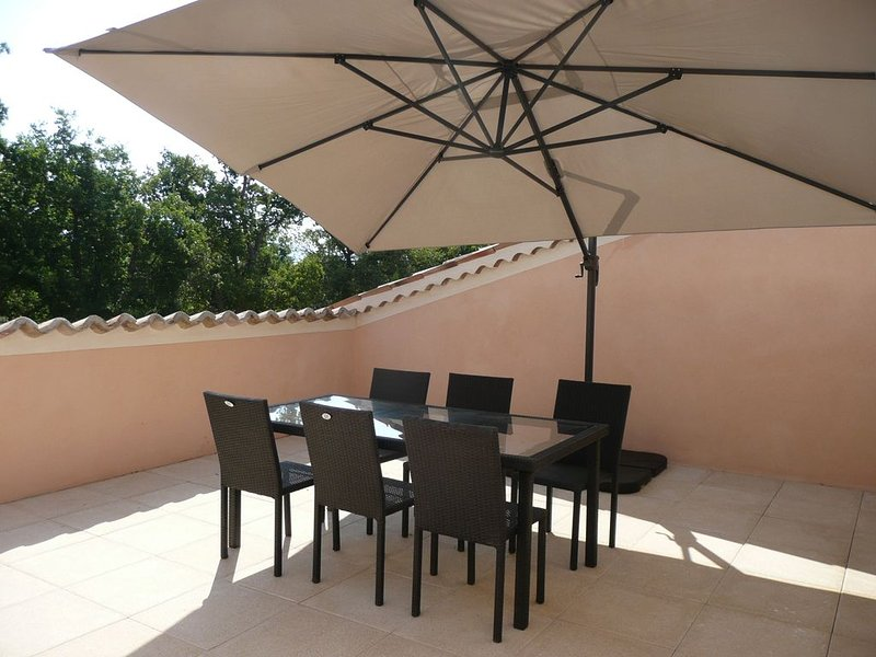 Amazing apt with terrace & Wifi, vacation rental in Riez