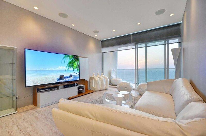 hermosa sala con excelente sonido