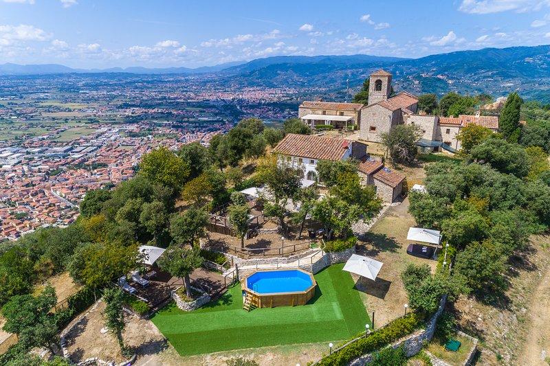 Villa il Vecchio Borgo, vacation rental in Monsummano Terme