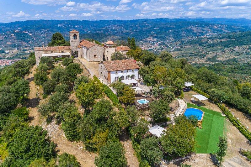 Villa il Vecchio Borgo, vacation rental in Pieve a Nievole