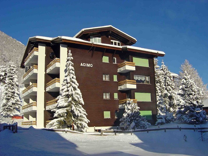 ACIMO 10 Panorama and silence - 2-3 pax Chalet in Saas-Fee