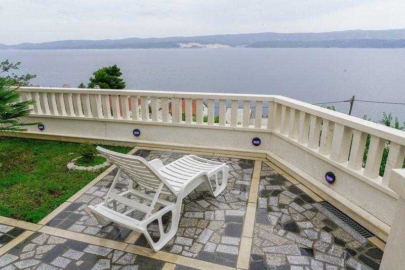 Gordana - panoramic sea view: A1(2+2) - Celina Zavode, vacation rental in Ruskamen