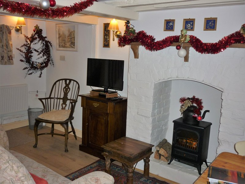 Property will be decorated for your Christmas celebrations