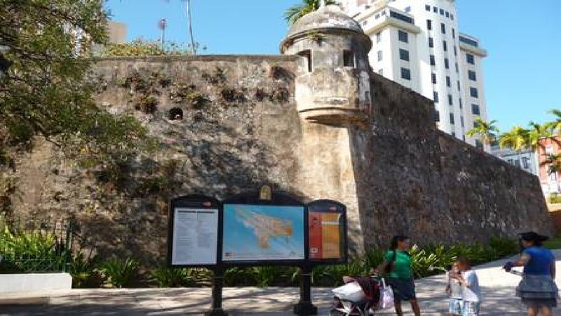 Old San Juan is a UNESCO walkable city. It is a 25 min walk from our penthouse,or take a bus or UBER