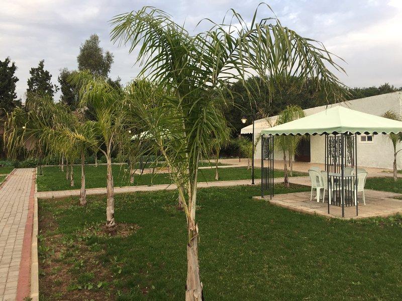 Palm Grove Rural Studio 1, alquiler de vacaciones en Nouaceur