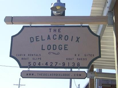 Delacroix Cabins and Boat Docking, holiday rental in Saint Bernard