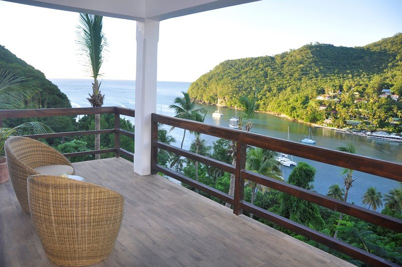 The Richmond apartment at Marigot Palms, holiday rental in Anse La Raye