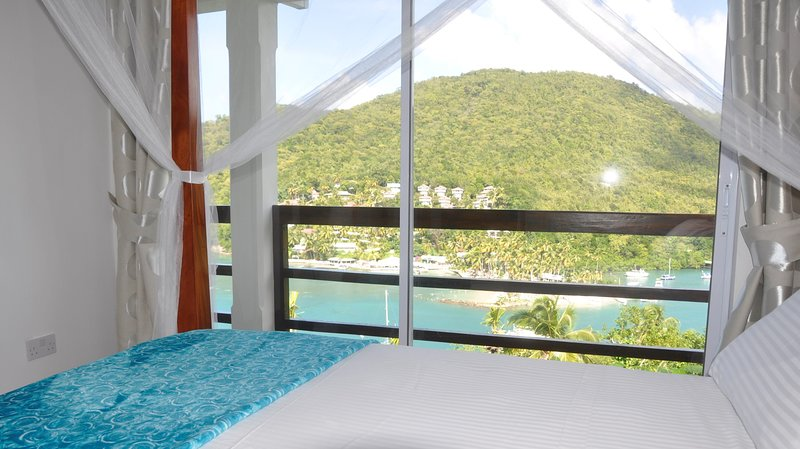 The Cardiff apartment at Marigot Palms, holiday rental in Anse La Raye