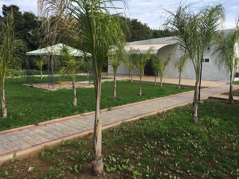 Palm Grove Rural Studio 3, alquiler de vacaciones en Nouaceur