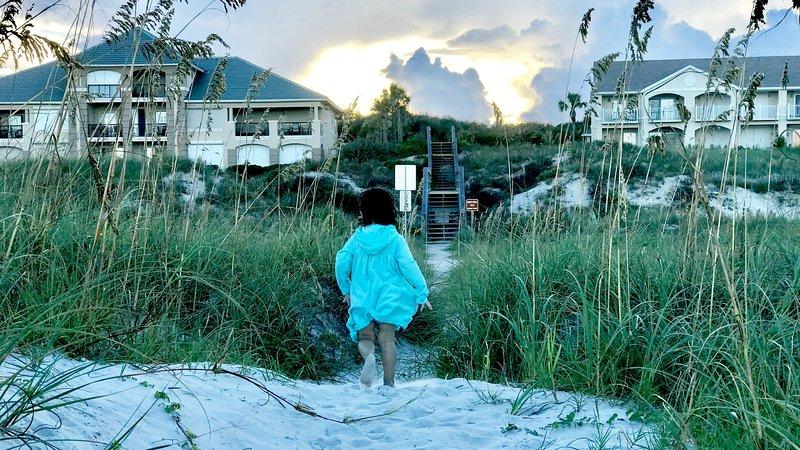 LuxeAmelia - Private Beachwalk