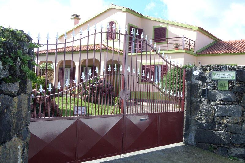 Quinta dos Sentidos main house