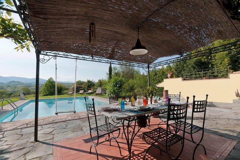 Totale relax in villa Olimpias, vacation rental in Barbarasco