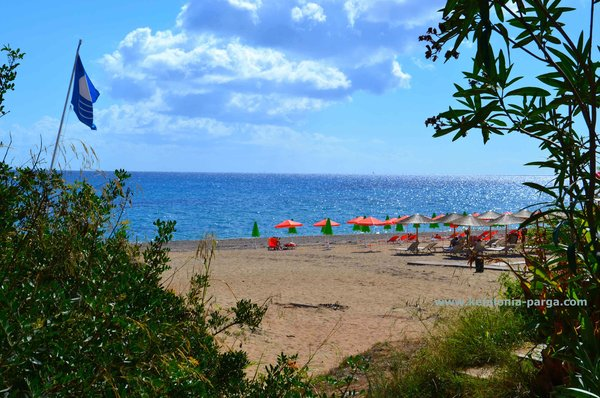 Skala beaches have Blue Flag awards