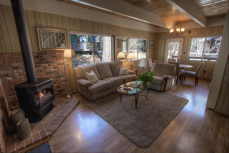Serene Stream Lodge - ivh0994 living room