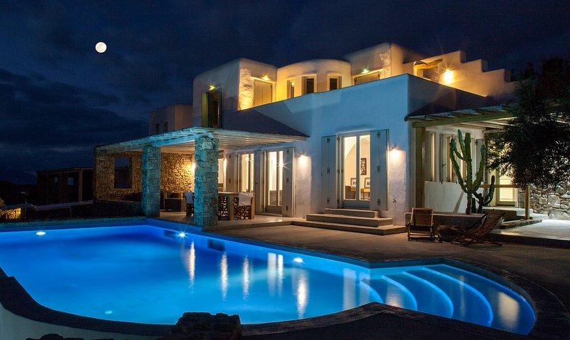 DreamLike Villa  Mykonos  2, aluguéis de temporada em Ornos